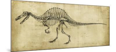 Spinosaurus Study-Ethan Harper-Mounted Giclee Print