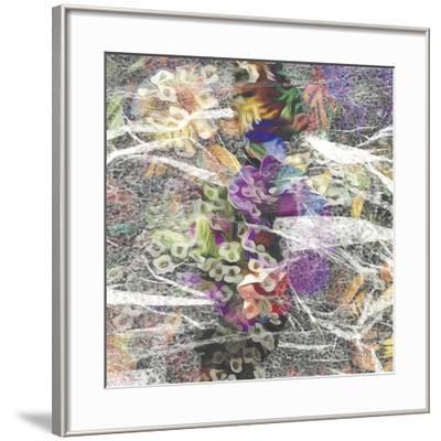 Eden Tile II-James Burghardt-Framed Art Print