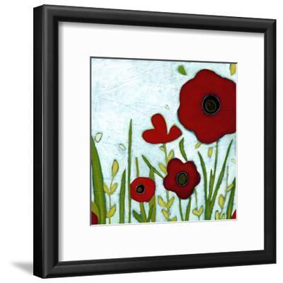 Precious Poppies IV-Erica J^ Vess-Framed Art Print