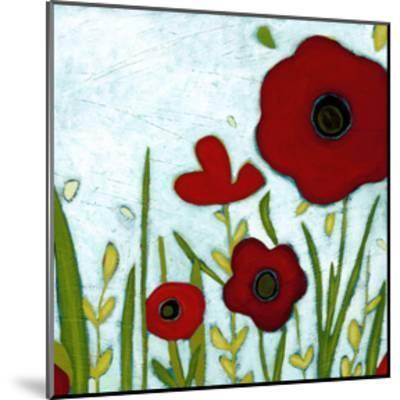 Precious Poppies IV-Erica J^ Vess-Mounted Art Print