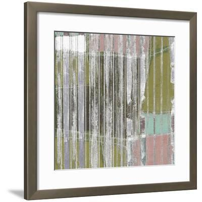 Linear Mix III-Jennifer Goldberger-Framed Giclee Print
