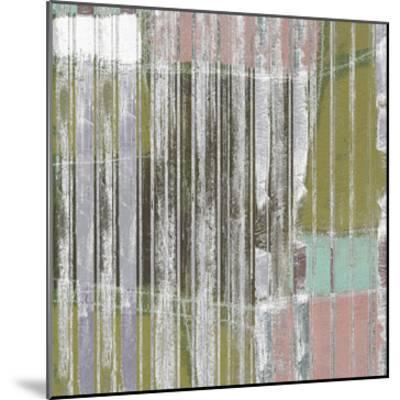 Linear Mix III-Jennifer Goldberger-Mounted Giclee Print