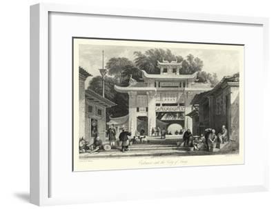 Scenes in China V-T^ Allom-Framed Giclee Print