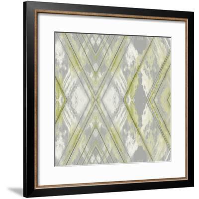 Argyle Watercolor III-Jennifer Goldberger-Framed Giclee Print