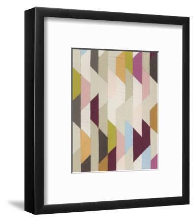 Confetti III-Erica J^ Vess-Framed Limited Edition
