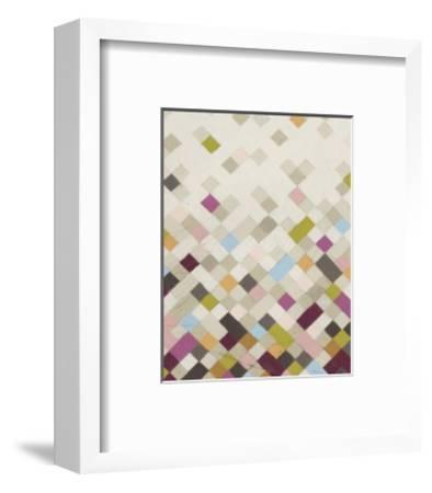 Confetti VI-Erica J^ Vess-Framed Limited Edition