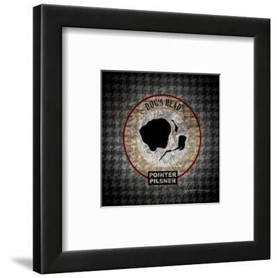 Hound's Tooth III-James Burghardt-Framed Art Print