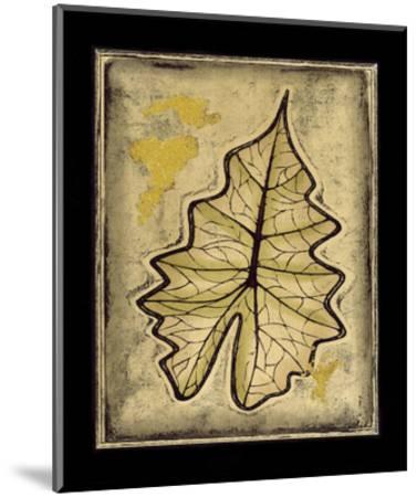 Leaf Panel II--Mounted Giclee Print