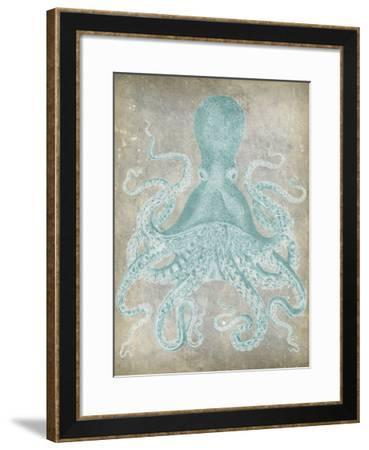 Spa Octopus I-Jennifer Goldberger-Framed Giclee Print