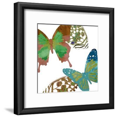 Scattered Butterflies I-Sisa Jasper-Framed Art Print