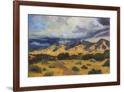 Desert Mountain Light-Judith D'Agostino-Framed Giclee Print