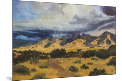 Desert Mountain Light-Judith D'Agostino-Mounted Giclee Print