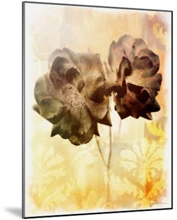 Brocade Garden I-James Burghardt-Mounted Giclee Print
