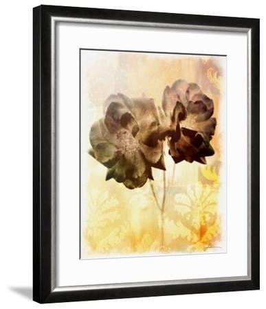 Brocade Garden I-James Burghardt-Framed Giclee Print