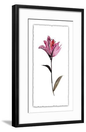 Floral Watercolor II-Kiana Mosley-Framed Limited Edition