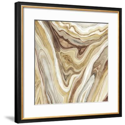 Watercolor Agate I-Megan Meagher-Framed Limited Edition