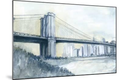 City Bridge I-Megan Meagher-Mounted Giclee Print