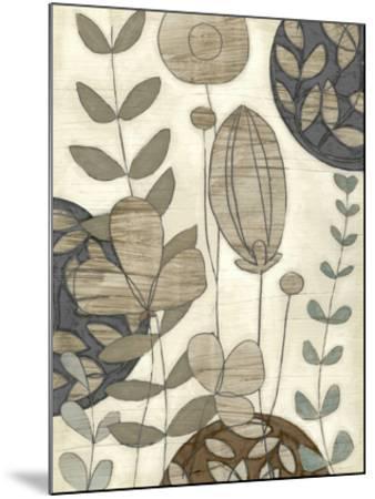 Garden Contours I-Erica J^ Vess-Mounted Giclee Print