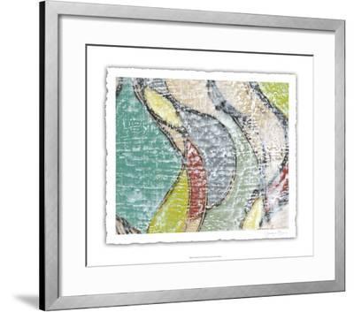 Undulating Color IV-Jennifer Goldberger-Framed Limited Edition