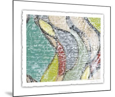 Undulating Color IV-Jennifer Goldberger-Mounted Limited Edition