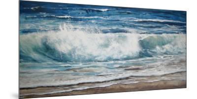 Shoreline study 9-Carole Malcolm-Mounted Art Print