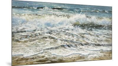 Shoreline study 6-Carole Malcolm-Mounted Art Print