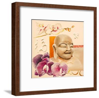 Luck-Lizie-Framed Art Print