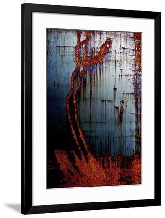 Metal abstract 3-Jean-Fran?ois Dupuis-Framed Art Print