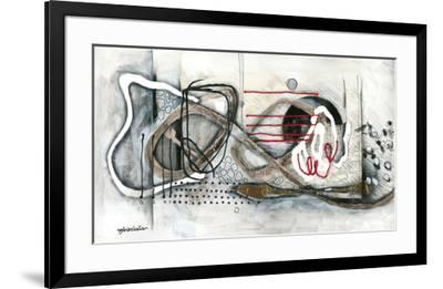 Et on s'accroche II-Sylvie Cloutier-Framed Art Print