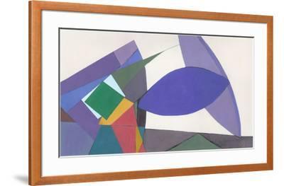 Equilibrium-Diane Lambin-Framed Art Print