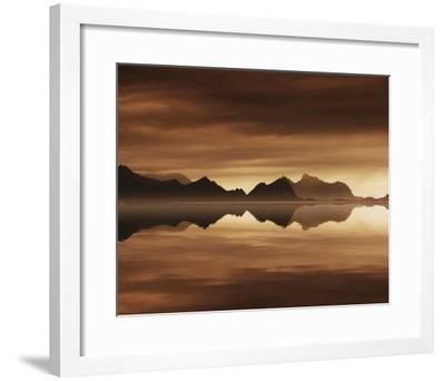 Mirrored Sea-Andreas Stridsberg-Framed Giclee Print