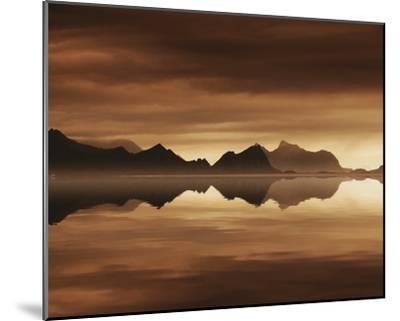 Mirrored Sea-Andreas Stridsberg-Mounted Giclee Print