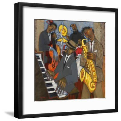 Thelonious Monk and his Sidemen-Marsha Hammel-Framed Giclee Print
