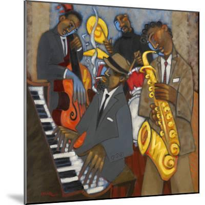 Thelonious Monk and his Sidemen-Marsha Hammel-Mounted Giclee Print