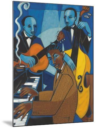 Unforgettable (Nat King Cole)-Marsha Hammel-Mounted Giclee Print