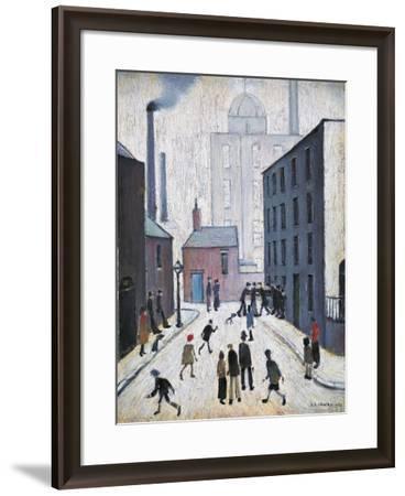 Industrial Scene, 1953-Laurence Stephen Lowry-Framed Giclee Print