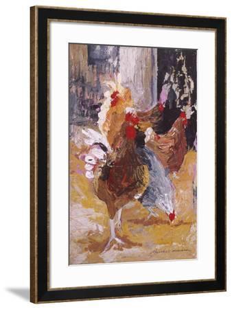 Outside the Barn-Anuk Naumann-Framed Giclee Print