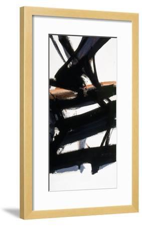 Horizontal Rust-Franz Kline-Framed Giclee Print