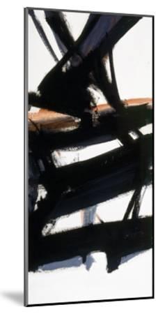 Horizontal Rust-Franz Kline-Mounted Giclee Print