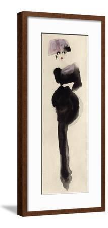 The Pink Hat-Bridget Davies-Framed Giclee Print