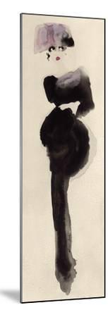 The Pink Hat-Bridget Davies-Mounted Art Print