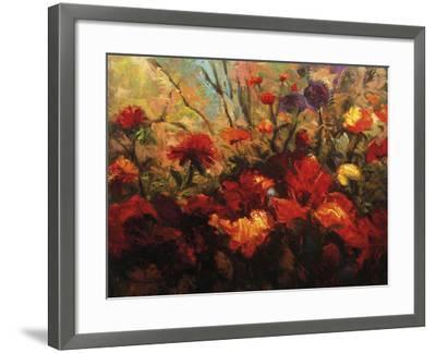 Autumn Florals-Kanayo Ede-Framed Giclee Print