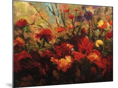 Autumn Florals-Kanayo Ede-Mounted Giclee Print