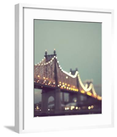 New York Explorer II-Irene Suchocki-Framed Art Print