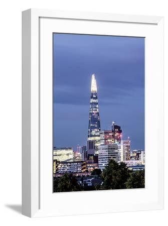 Pinnacle Twilight-Joseph Eta-Framed Giclee Print