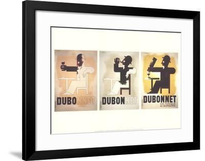 Dubo-Dubonnet-Adolphe Mouron Cassandre-Framed Collectable Print
