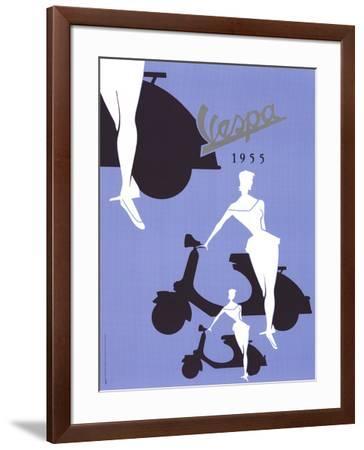 Vespa (1955)--Framed Art Print