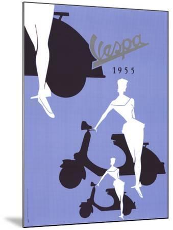 Vespa (1955)--Mounted Art Print