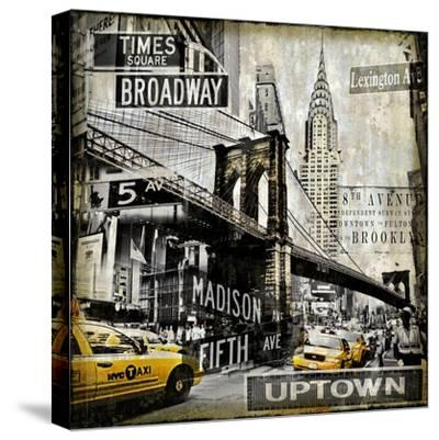 Landmarks NYC-Dylan Matthews-Stretched Canvas Print