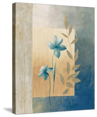 Fleurs bleues I-Etienne Bonnard-Stretched Canvas Print